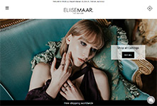Shopify Jewellery site development: Eliise Maar #1