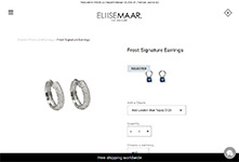 Shopify Jewellery site development: Eliise Maar #2